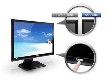 "Samsung 24"" 16:10 S24A450BW LED Monitor"